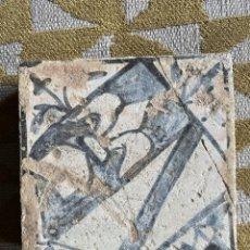 Oggetti Antichi: BALDOSA HERALDICA GÓTICA. Lote 243983860