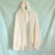 Antigüedades: CAPA CRISTIANAR VINTAGE, LARGO, AÑOS 60.VINTAGE LONG CHRISTENING CAPE FROM THE 60'S. Lote 244019955