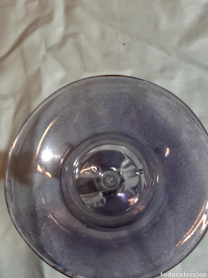 Antigüedades: Delicada pieza cristal soplado Italia S.XIX ? - Foto 4 - 244178540