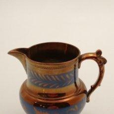Antigüedades: JARRA BRISTOL REFLEJOS, (16 CM. ALTO). Lote 244222130
