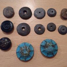 Antigüedades: LOTE 17,ANTIGUOS BOTONES PLOMO Y HOJALATA, IDEAL COLECCIONISTA. Lote 244227540