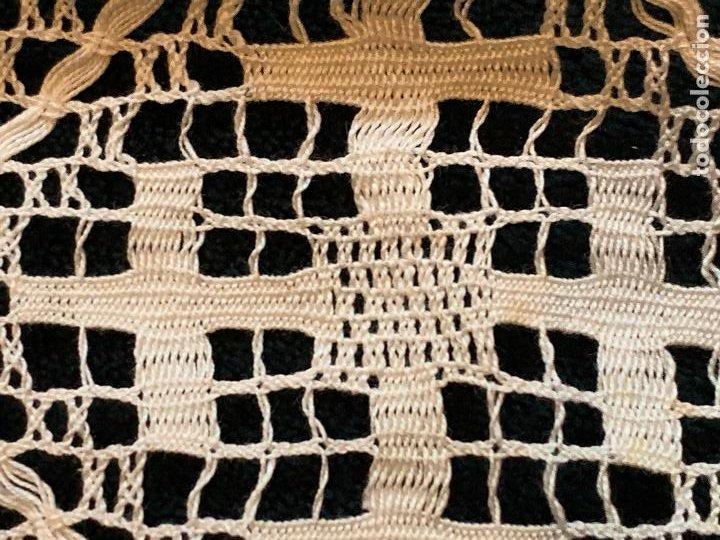 Antigüedades: 18 metros de encaje o puntilla x 9 cms de ancho. Preciosa e impecable - Foto 7 - 244409750