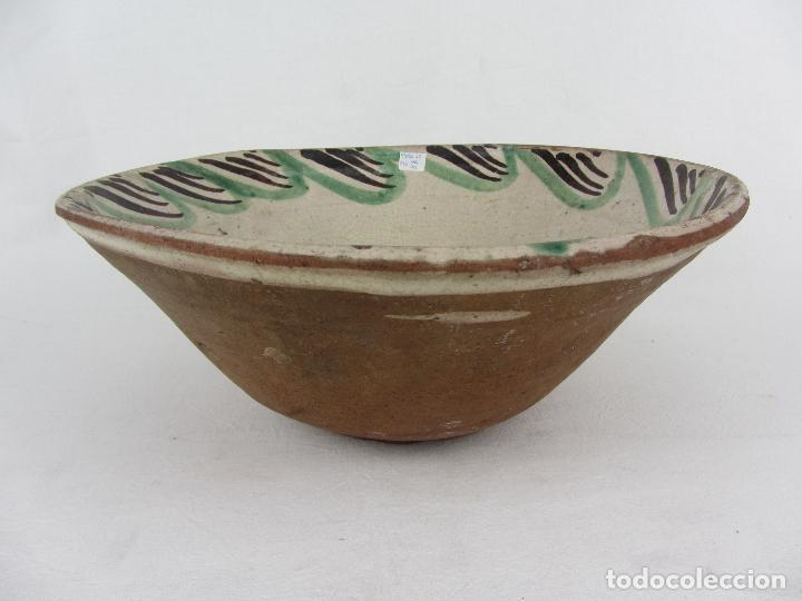 Antigüedades: Cuenco en cerámica de Teruel - Siglo XIX - Foto 4 - 244410820