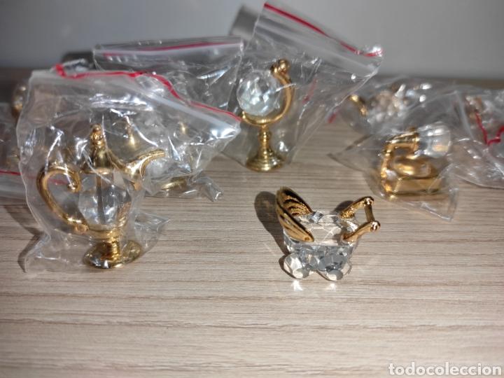 Antigüedades: Colección miniaturas cristal tallado. Sin uso. The Crystal treasury collection. 24 piezas. - Foto 7 - 244425510
