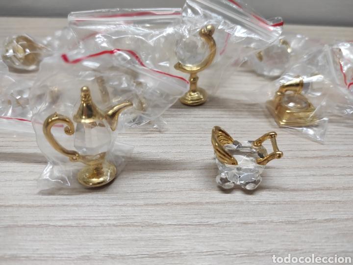 Antigüedades: Colección miniaturas cristal tallado. Sin uso. The Crystal treasury collection. 24 piezas. - Foto 8 - 244425510