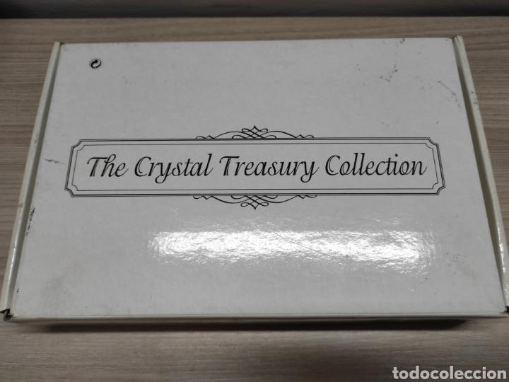 Antigüedades: Colección miniaturas cristal tallado. Sin uso. The Crystal treasury collection. 24 piezas. - Foto 9 - 244425510