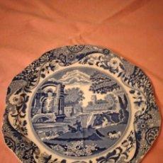 Antigüedades: PLATO DE PORCELANA COPELAND SPODE ITALIAN ENGLAND.. Lote 244435265