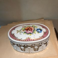 Antigüedades: BONITA PIEZA DE PORCELANA BIDASOA. Lote 244441680