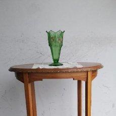 Antigüedades: MESA VELADOR OVALADA DE NOGAL. Lote 244445265