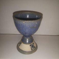 Antigüedades: CÁLIZ DE CERÁMICA. Lote 244448160