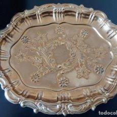 Oggetti Antichi: BANDEJA DE PLATA DE LEY. Lote 244453980