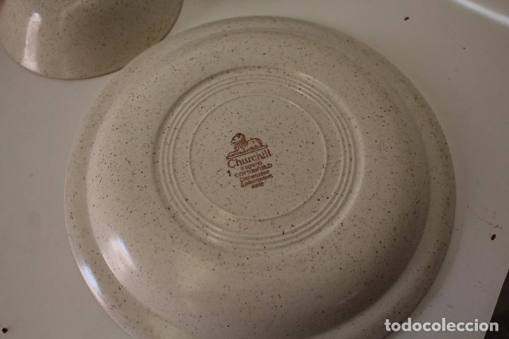 Antigüedades: lote de vajilla churchill - england - Foto 8 - 244463990