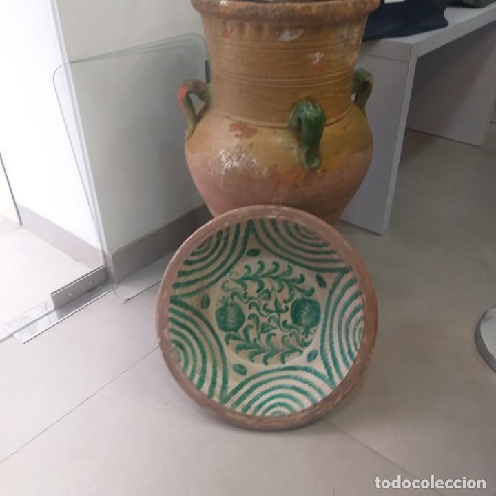 LEBRILLO DE FAJALAUZA 45 CM. VEAN FOTOS (Antigüedades - Porcelanas y Cerámicas - Fajalauza)