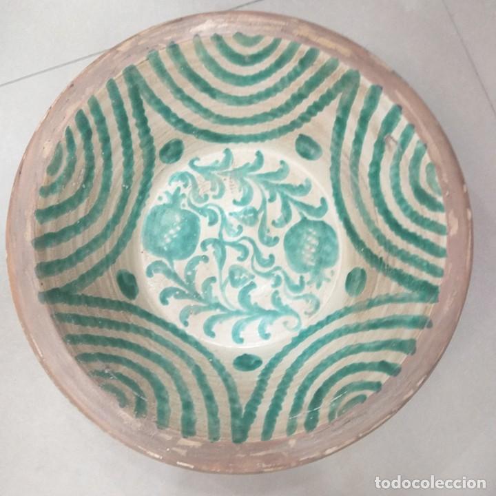 Antigüedades: lebrillo de fajalauza 45 cm. Vean fotos - Foto 2 - 244475110