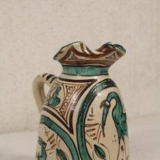 Antigüedades: JARRA DE CERÁMICA DOMINGO PUNTER. TERUEL.. Lote 244475715