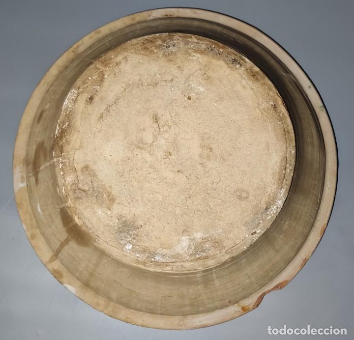 Antigüedades: Antiguo lebrillo de fajalauza - Foto 2 - 244481480
