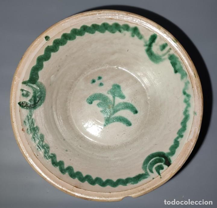 Antigüedades: Antiguo lebrillo de fajalauza - Foto 3 - 244481480