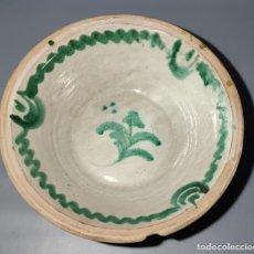 Antigüedades: ANTIGUO LEBRILLO DE FAJALAUZA. Lote 244481480