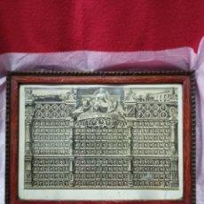Antigüedades: MUY ANTIGUA ORLA FACULTAD DE MEDICINA.AÑO 1920 - 1926. Lote 244489115