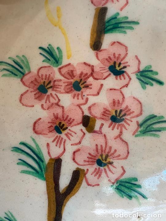Antigüedades: Extraordinario gran jarron antiguo tipo anfora de ceramica. 41cms alto x 22cm diametro. Numerado. - Foto 13 - 244490495