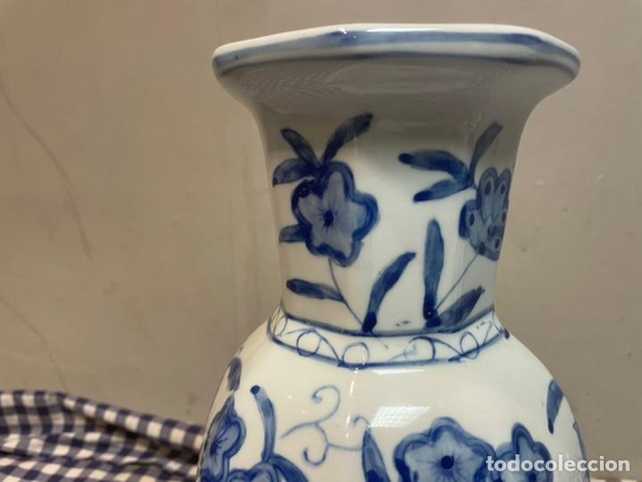 Antigüedades: BONITO JARRÓN FLORERO A IDENTIFICAR - Foto 6 - 244492305