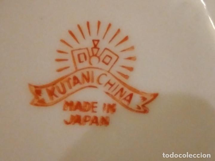 Antigüedades: Cafetera y azucarero de porcelana kutani china made in japan - Foto 5 - 244504905