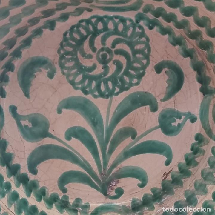 LEBRILLO DE GRANADA 58 CM. (Antigüedades - Porcelanas y Cerámicas - Fajalauza)