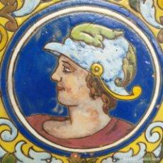 Antigüedades: PLATO DE TRIANA 31 CM. PRINCIPIO DE SIGLO. Lote 244520430