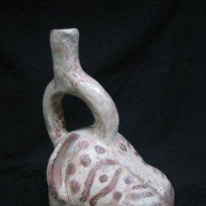 Antigüedades: JARRA CERAMICA ESTILO ARTESANIA ARTE ETNICO PRECOLOMBINO. Lote 244529105