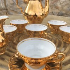 Antiquités: JUEGO CAFÉ PORCELANA BAVARIA MADE IN GERMANY. Lote 244531820