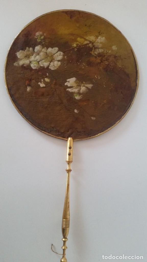 Antigüedades: DE COLECION ANTIGUIOS ABANICOS MAD CHINA HECHOS Y PINTADOS A MANO - Foto 12 - 244540545