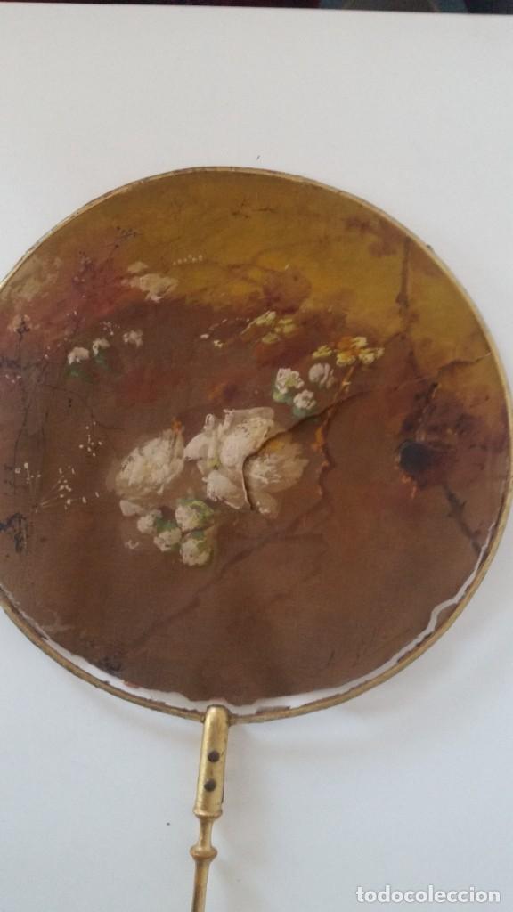 Antigüedades: DE COLECION ANTIGUIOS ABANICOS MAD CHINA HECHOS Y PINTADOS A MANO - Foto 17 - 244540545