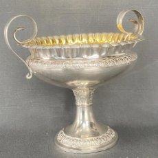 Antigüedades: CENTRO DE PLATA . SILVER DANISH 1833 , CHRISTIAN OLSEN MØLLER , DENMARK STERLING .. Lote 244541980