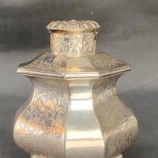 Antigüedades: ENVASE DE PLATA . SILVER DANISH 1843 , PETER R. HINNERUP , DENMARK STERLING .. Lote 244543610