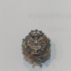 Antigüedades: ANTIGUO EMBLEMA DE PLATA ANTIGUA. Lote 244598060