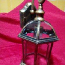 Antigüedades: BONITO APLIQUE PARA EXTERIOR. Lote 244603750