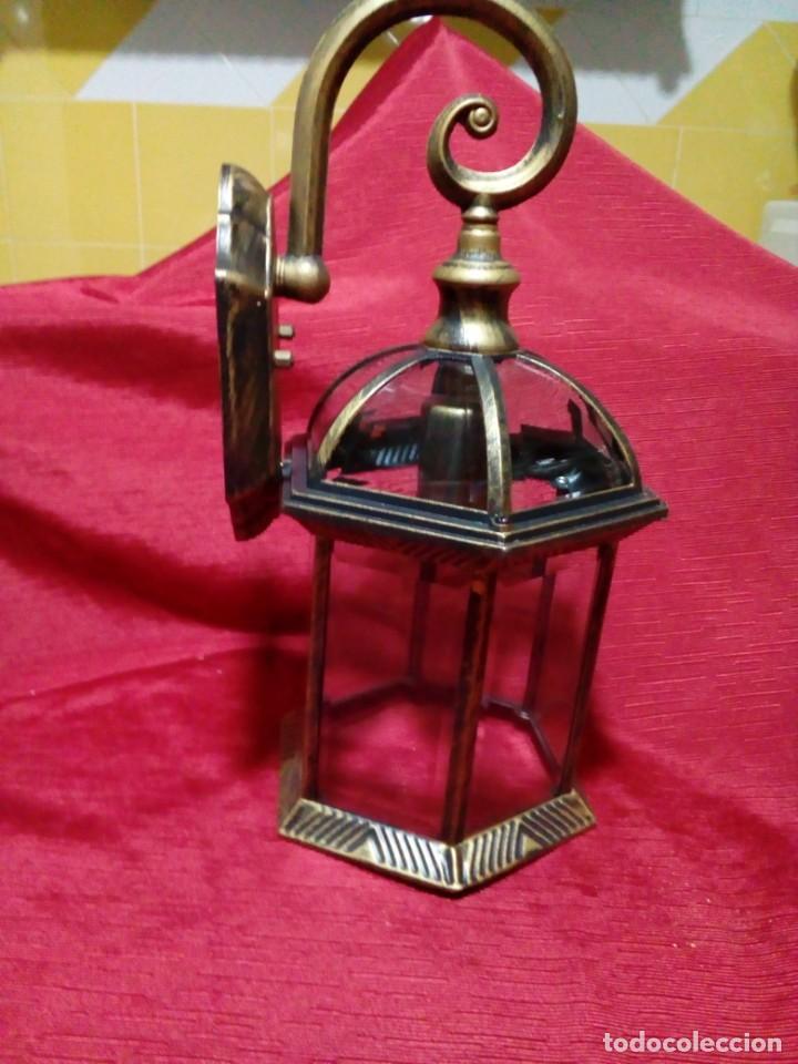 Antigüedades: BONITO APLIQUE PARA EXTERIOR - Foto 2 - 244603860