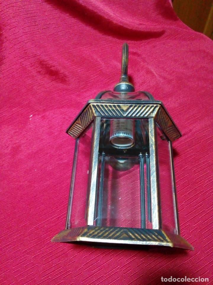 Antigüedades: BONITO APLIQUE PARA EXTERIOR - Foto 4 - 244603860