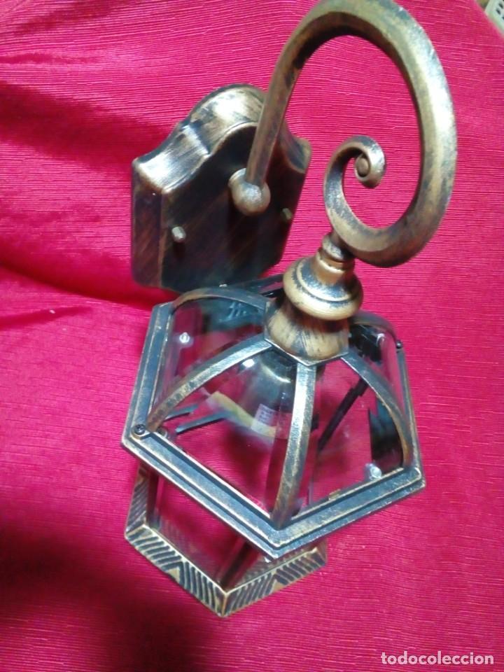 Antigüedades: BONITO APLIQUE PARA EXTERIOR - Foto 5 - 244603860