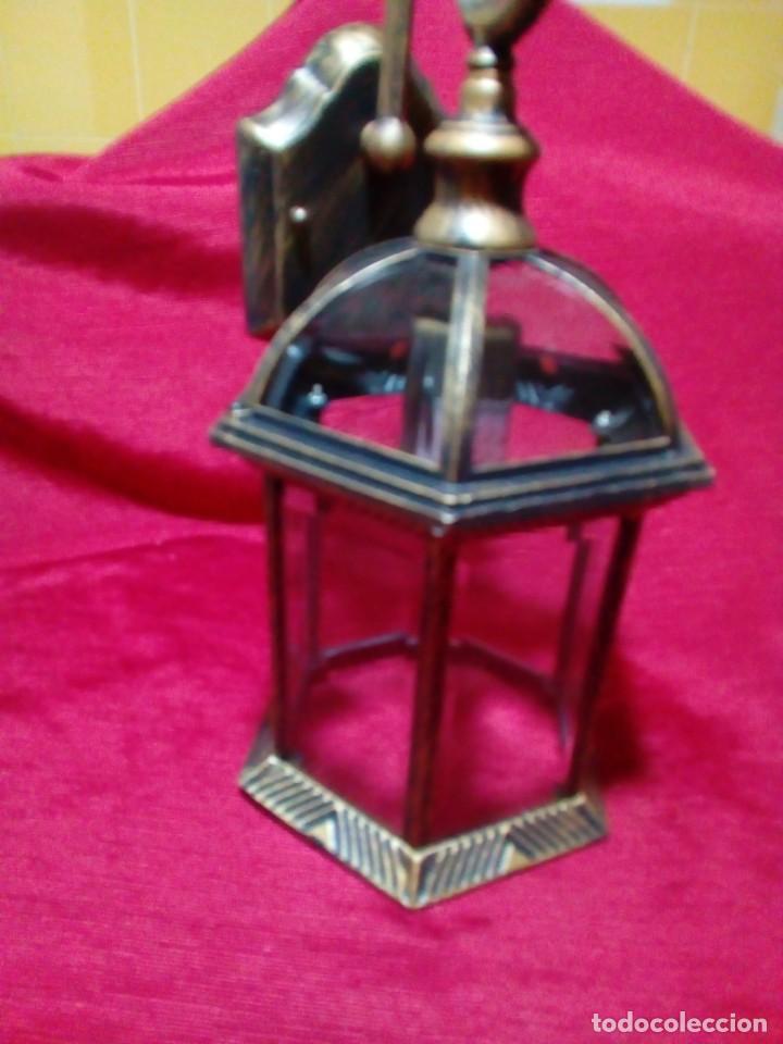 Antigüedades: BONITO APLIQUE PARA EXTERIOR - Foto 6 - 244603860