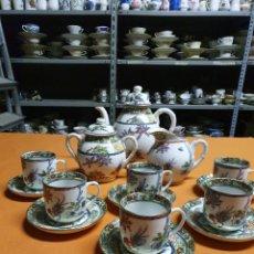 Antigüedades: JUEGO DE CAFÉ MACAO. Lote 244610565