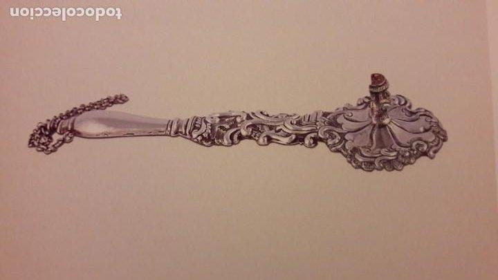 Antigüedades: Candelero en plata Madrid. S. XVIII? - Foto 8 - 241819910