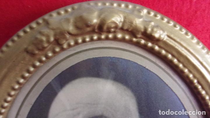 Antigüedades: marco de madera ,años 20,cambiado la foto,hay fotos demontado - Foto 8 - 244680305