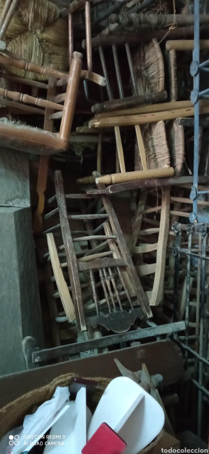 Antigüedades: Lote de 50 sillas antiguas - Foto 2 - 244690830