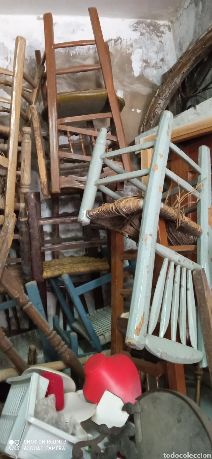 Antigüedades: Lote de 50 sillas antiguas - Foto 3 - 244690830
