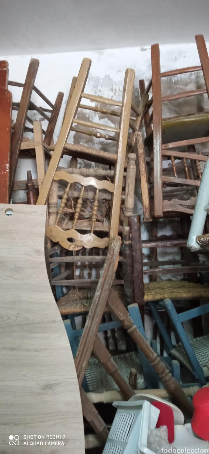 Antigüedades: Lote de 50 sillas antiguas - Foto 4 - 244690830
