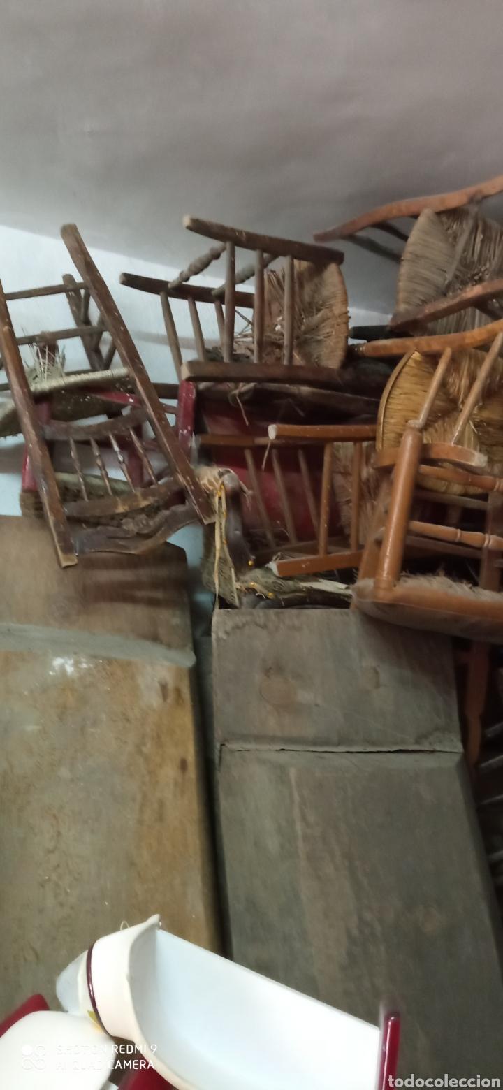 Antigüedades: Lote de 50 sillas antiguas - Foto 5 - 244690830