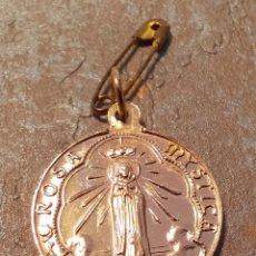 Antigüedades: ANTIGUA IMPECABLE MEDALLA ROSA MYSTICA MARIA MATER ECCLESIAE. Lote 244717145