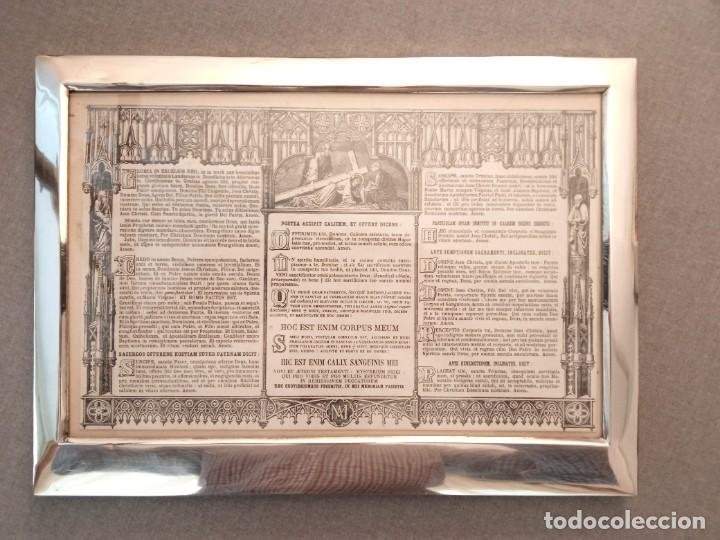 Antigüedades: Sacra marco de plata - Foto 4 - 244742885