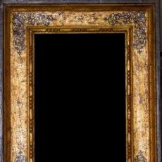 Antigüedades: MARCO DORADO AL AGUA. Lote 244752000